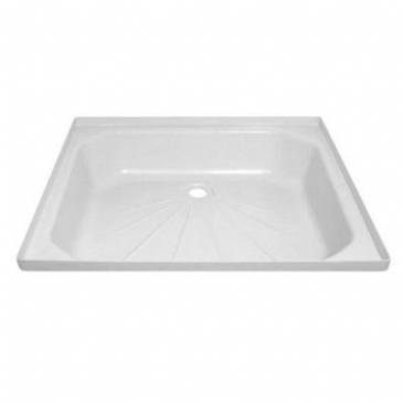 "Caravan/Motorhome PLASTIC SHOWER TRAY 28 1/2"" X 23"" WHITE"
